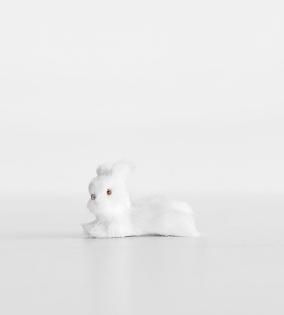 Christmas Decoration | Hanging Rabbit | White