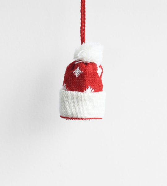 Christmas Decoration | Hanging Winter Warmer | Beanie