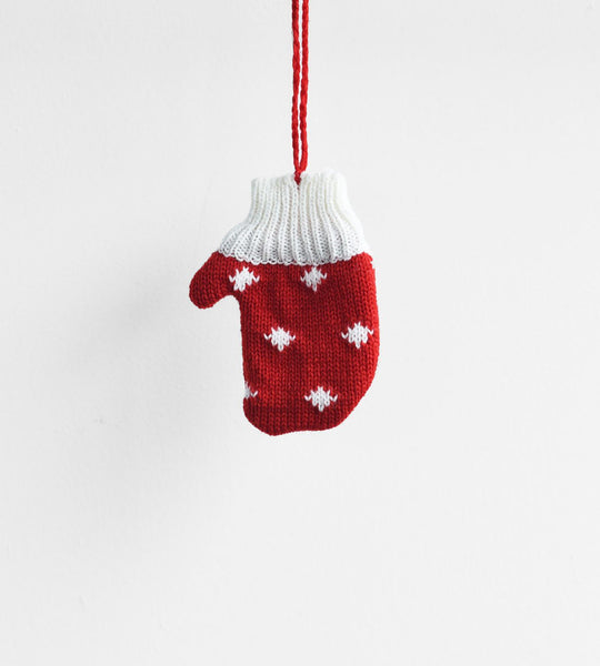 Christmas Decoration | Hanging Winter Warmer | Mitten