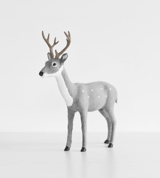 Christmas Decoration | Table Reindeer | Grey