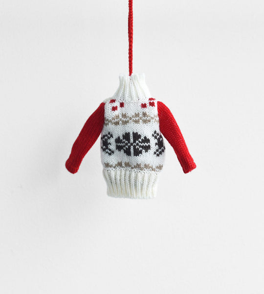 Christmas Decoration | Hanging Ugly Sweater | Patterned