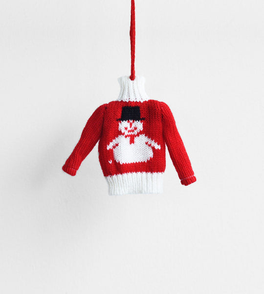 Christmas Decoration | Hanging Ugly Sweater | Snowman