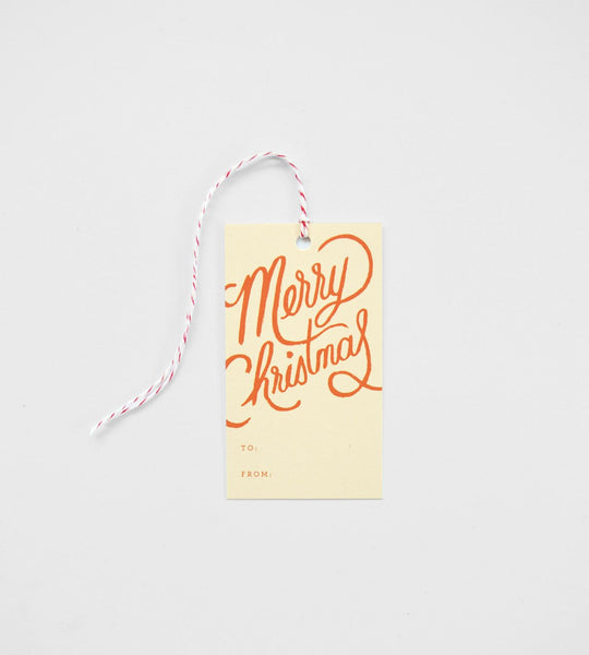 Rifle Paper Co. | Gift Tag | Merry Christmas