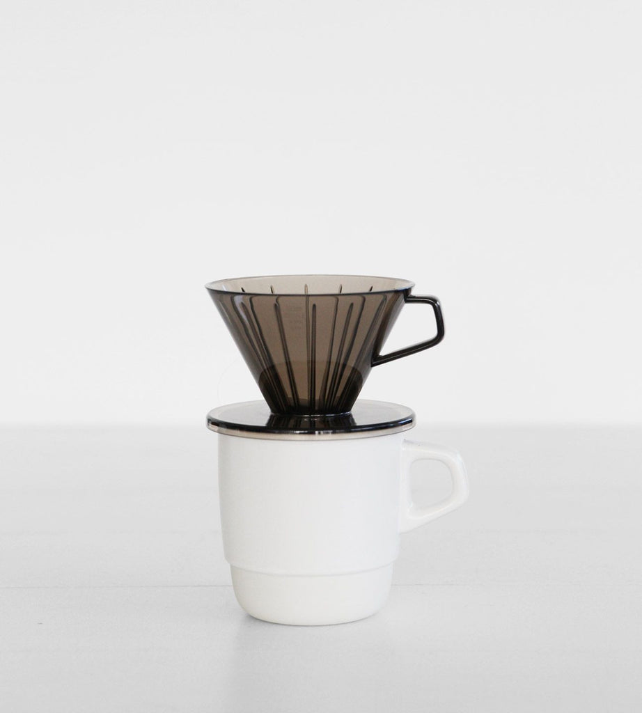Kinto | Coffee Brewer | 2 Cups | Clear Grey