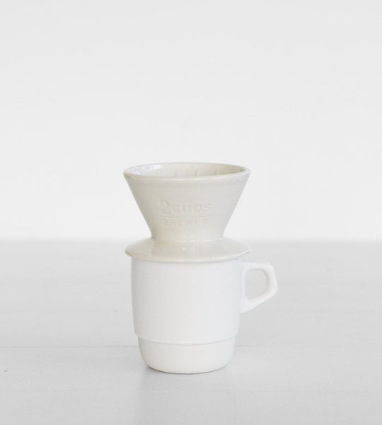 Kinto | Coffee Brewer | 2 Cups | White