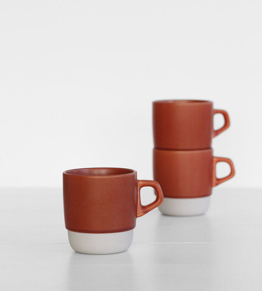 Kinto | Stacking Mug | Terracotta