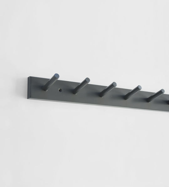 Father Rabbit Peg Hooks | Dark Grey