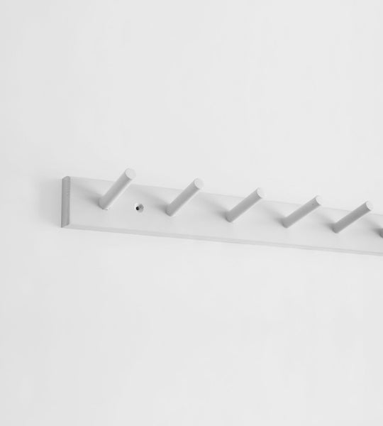 Father Rabbit Peg Hooks | Light Grey