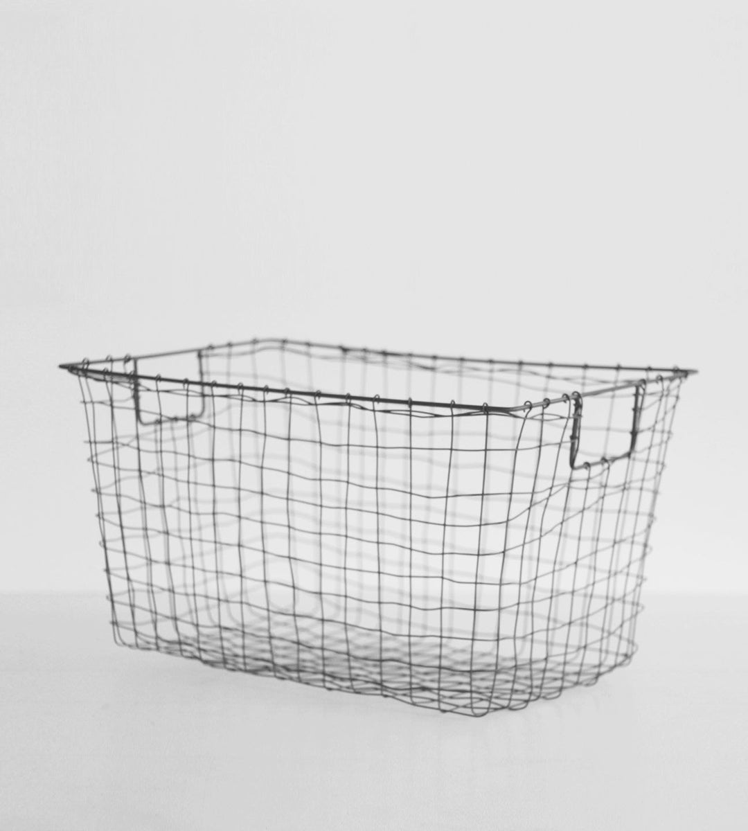 Fog Linen Basket | Grey Standard | Large