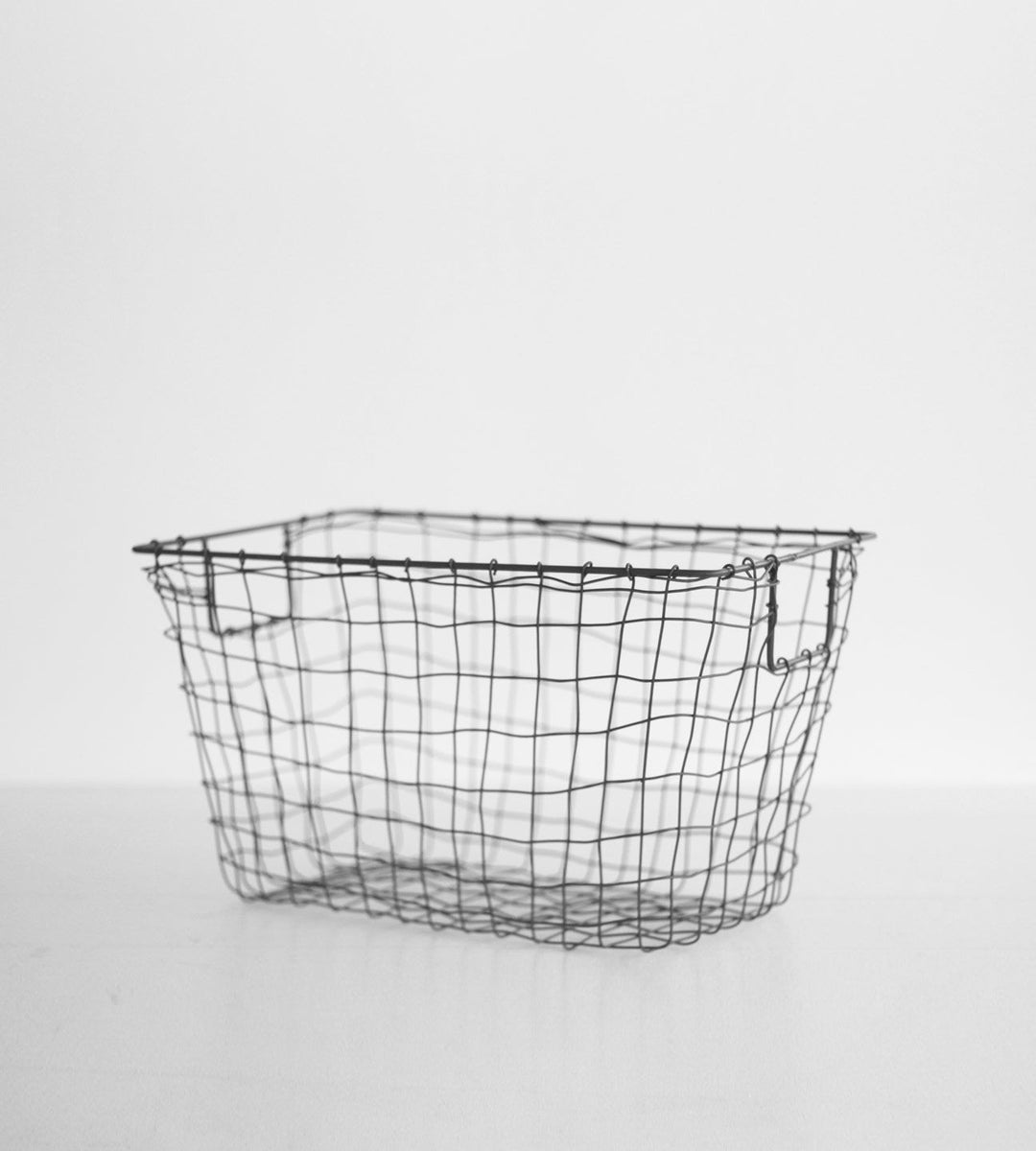 Fog Linen Basket | Grey Standard | Medium