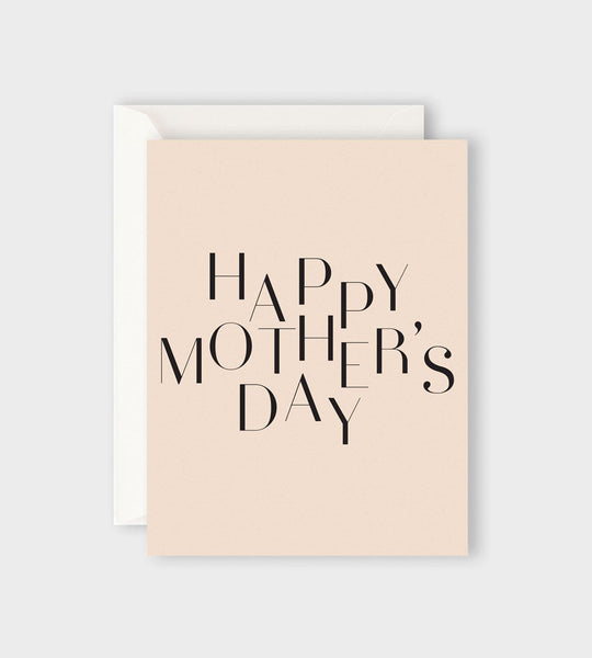 Father Rabbit Stationery | Deco Happy Mother's Day Card