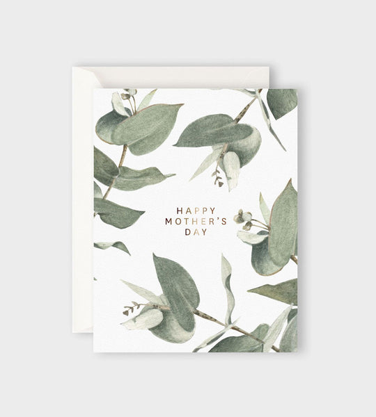 Father Rabbit Stationery | Eucalyptus Happy Mother's Day Card