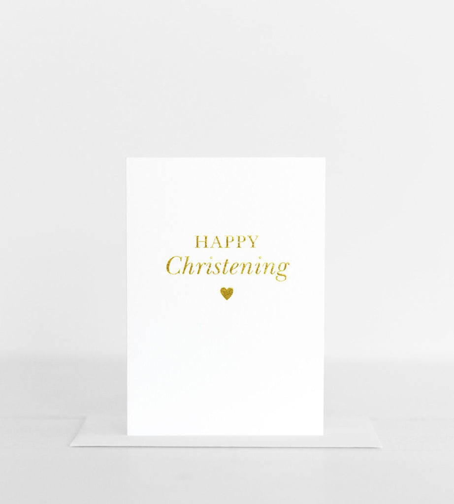 Elm Paper | Happy Christening Card