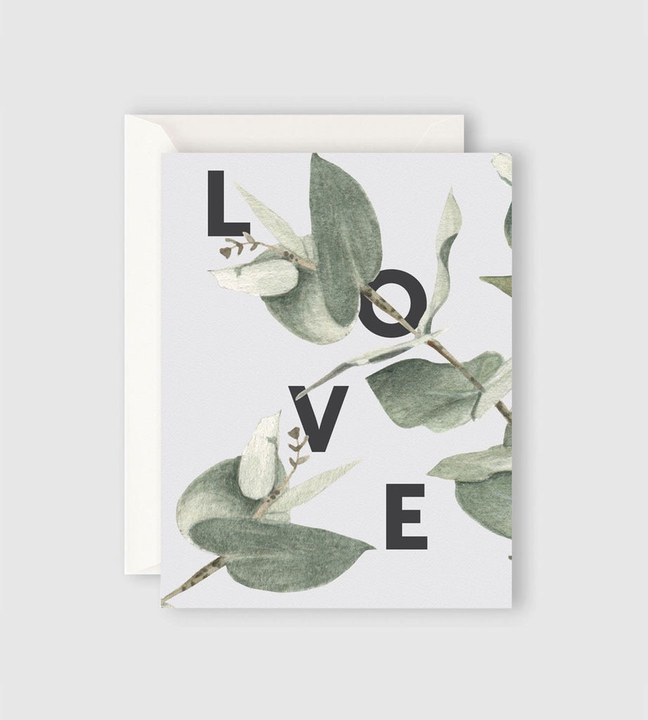 Father Rabbit Stationery | Eucalyptus Love Card