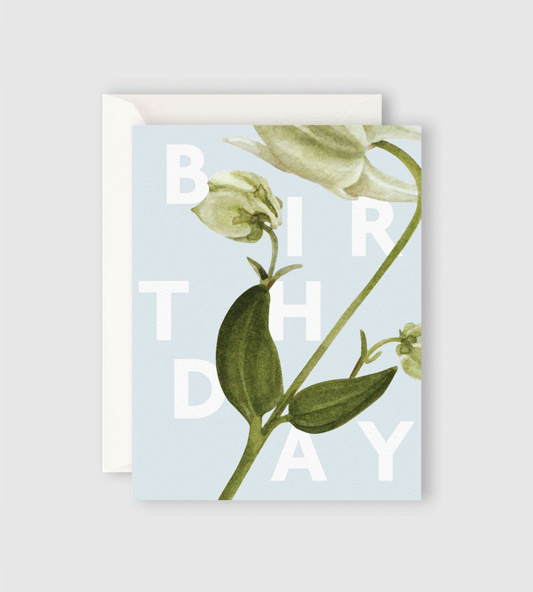 Father Rabbit Stationery | Floral Birthday Card