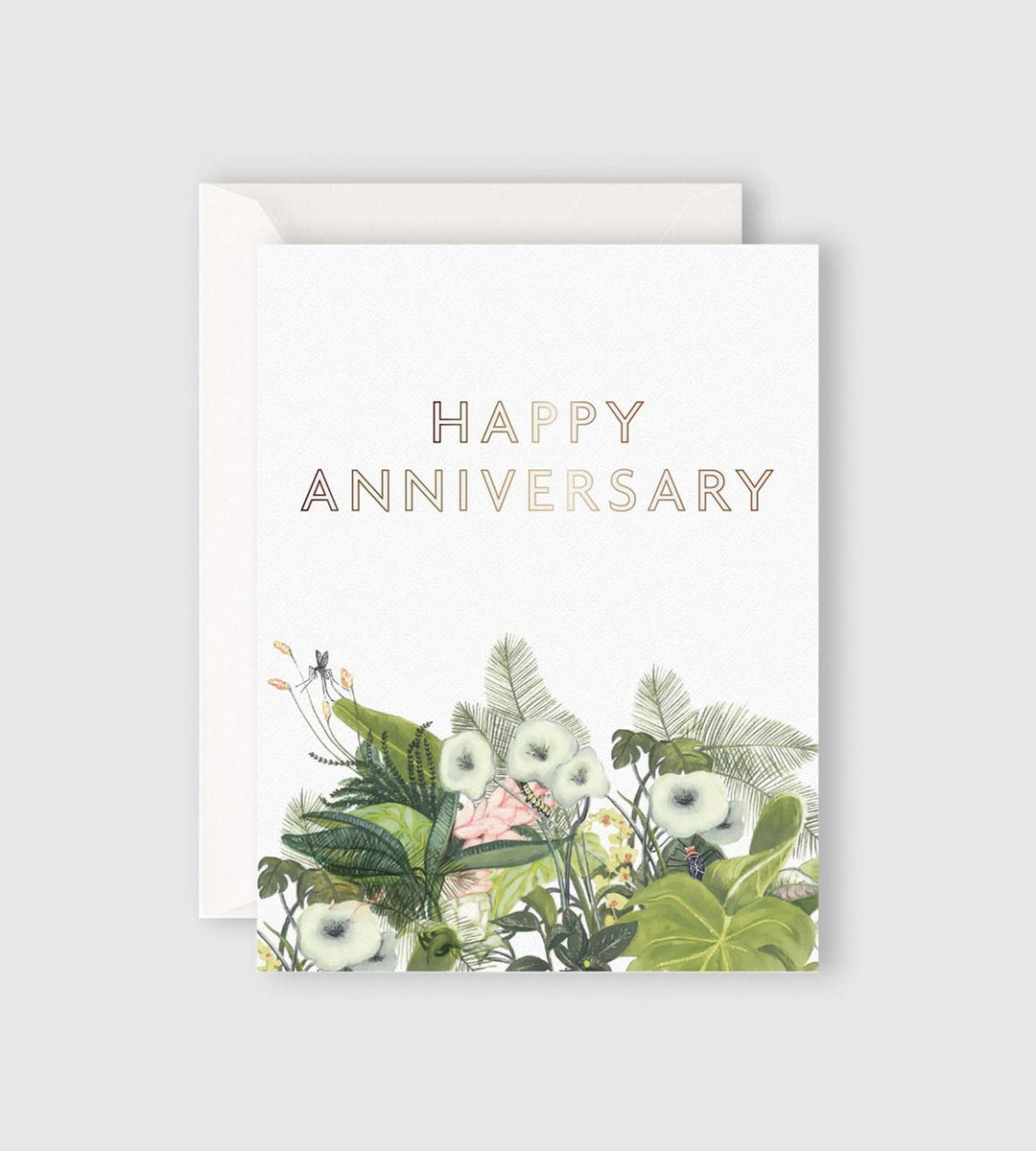 Father Rabbit Stationery | Happy Anniversary Card