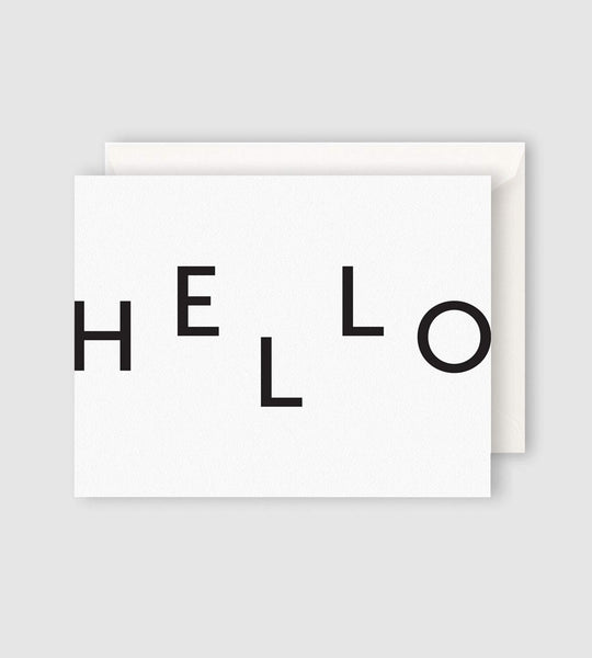 Father Rabbit Stationery | Hello Card