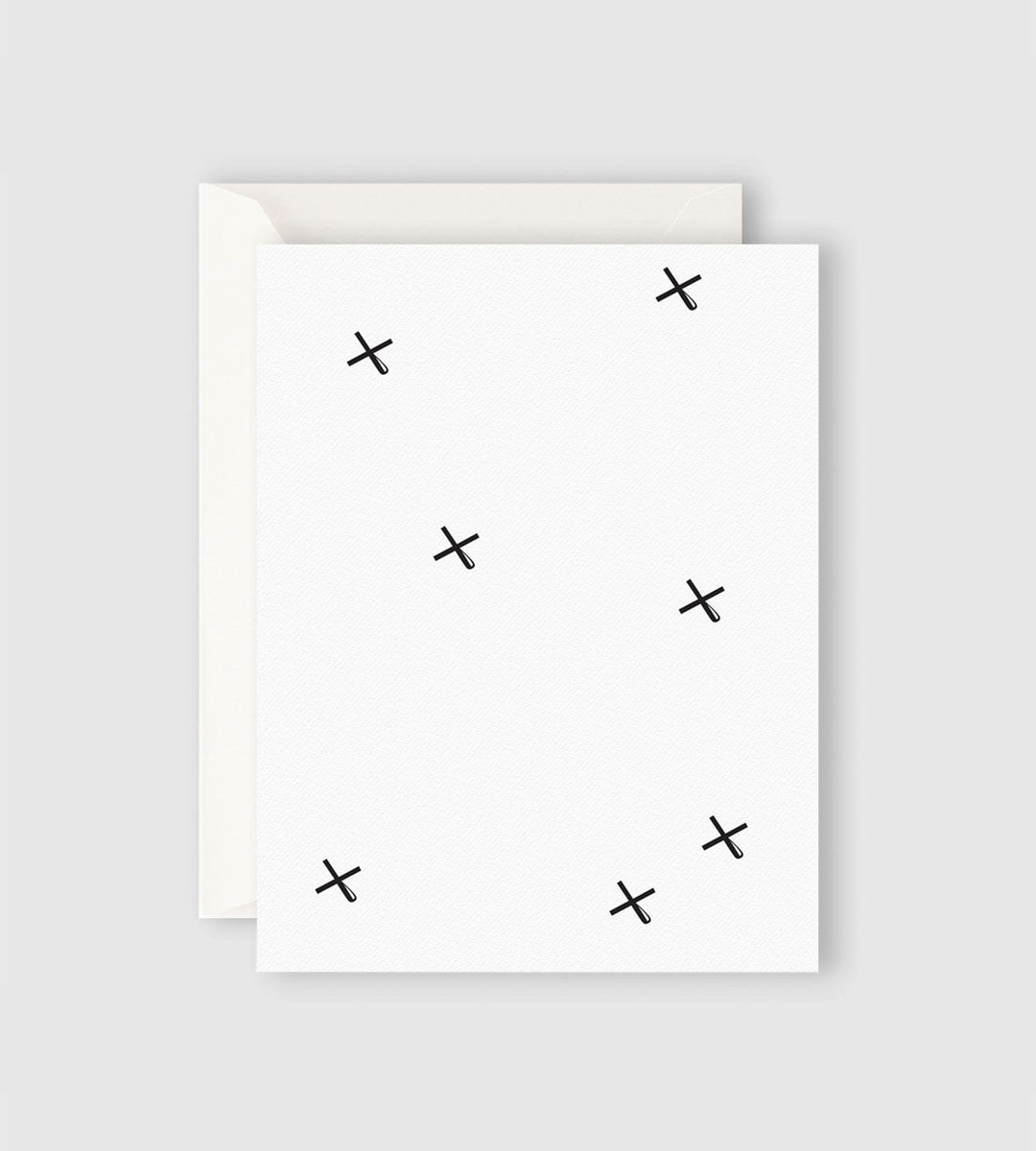 Father Rabbit Stationery | Kisses Card
