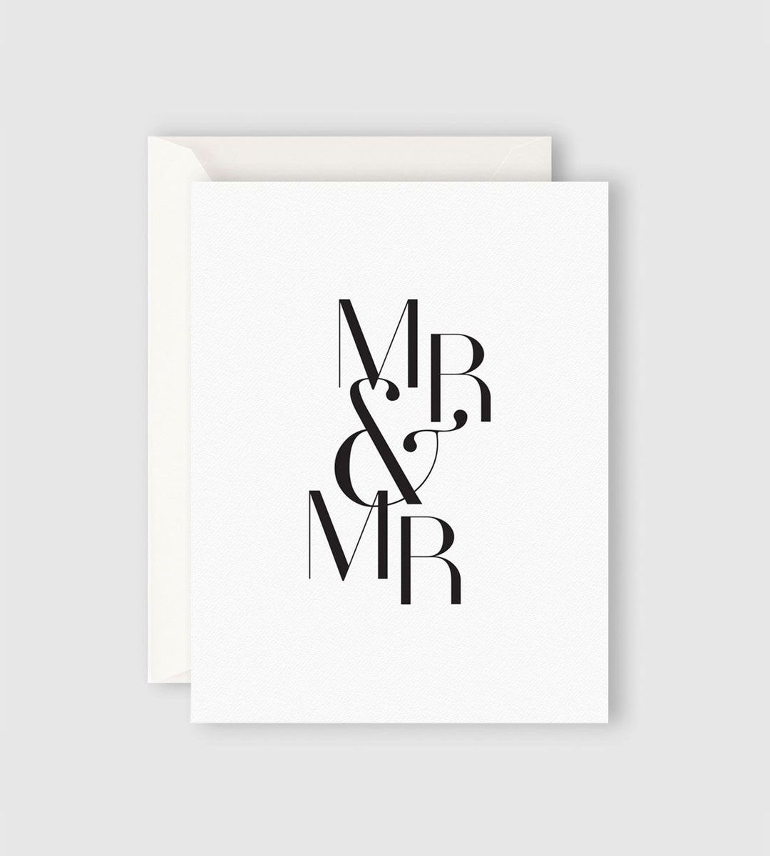Father Rabbit Stationery Mr & Mr Card