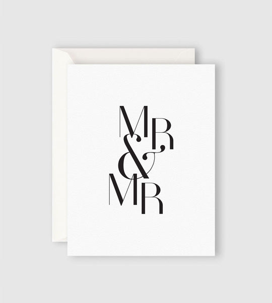 Father Rabbit Stationery | Mr & Mr Card