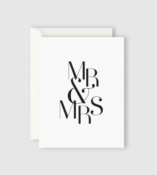 Father Rabbit Stationery | Mr & Mrs Card