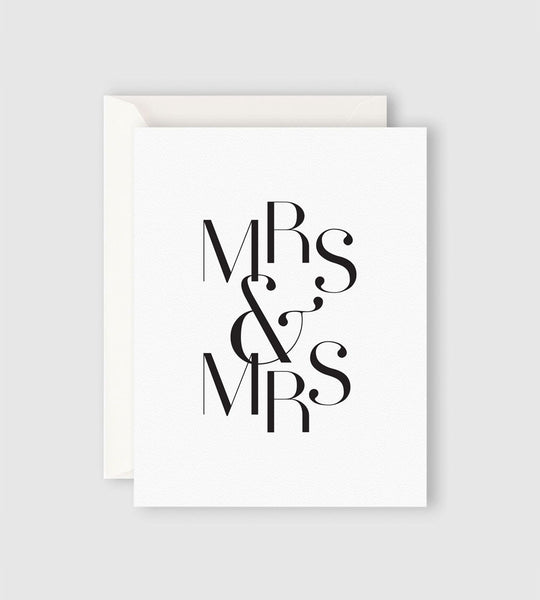 Father Rabbit Stationery | Mrs & Mrs Card
