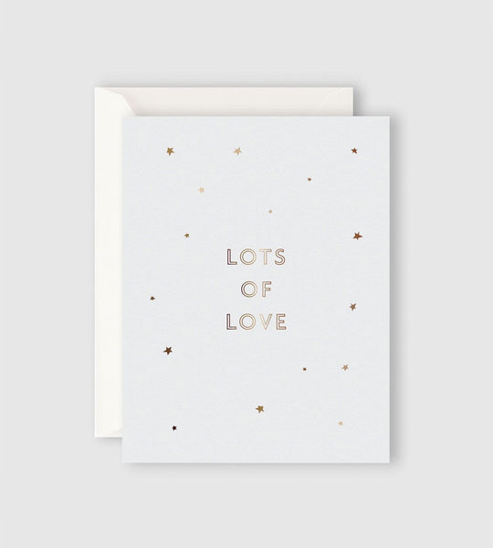 Father Rabbit Stationery Starry Lots of Love Card