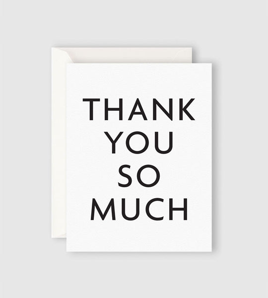 Father Rabbit Stationery | Thank You so Much Card