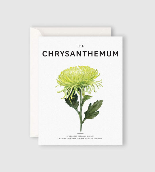 Father Rabbit Stationery | The Chrysamthemum Card