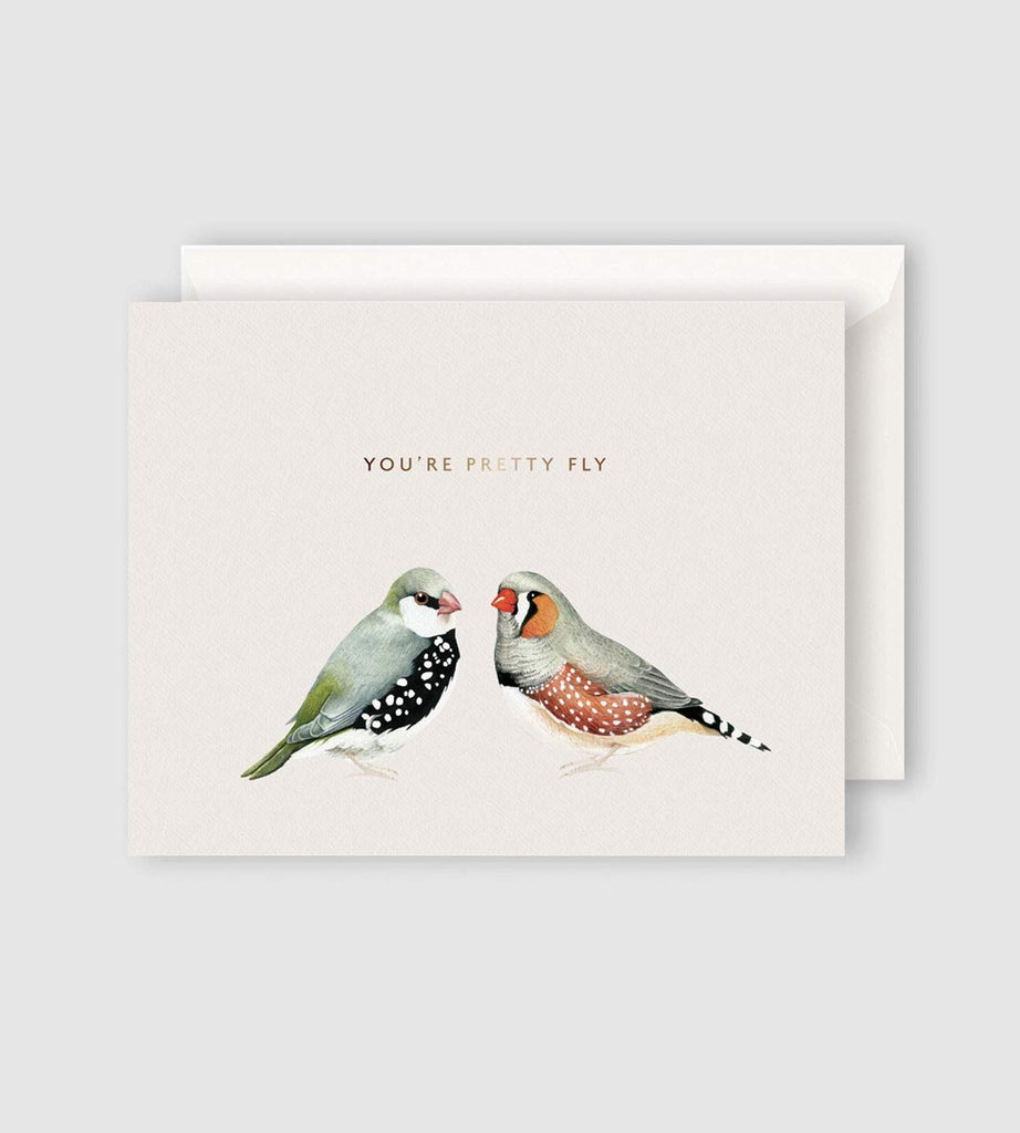 Father Rabbit Stationery | You're Pretty Fly Card