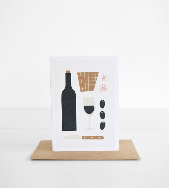Michoucas Design | Apéritif Card