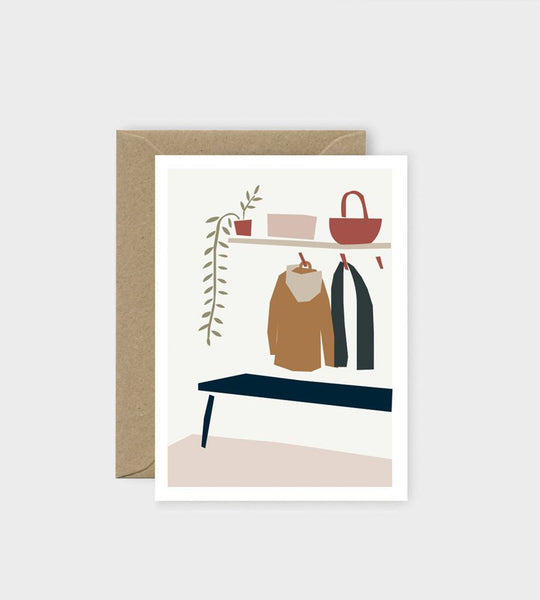 Michoucas Design | Back Home Card