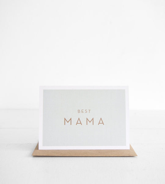 Michoucas Design | Best Mama Card
