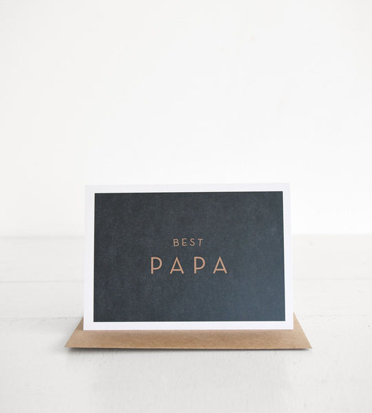 Michoucas Design | Best Papa Card