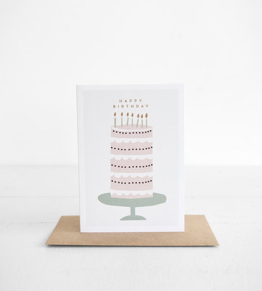 Michoucas Design | Big Birthday Cake Card
