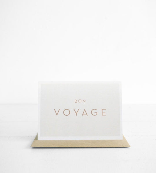 Michoucas Design | Bon Voyage Card
