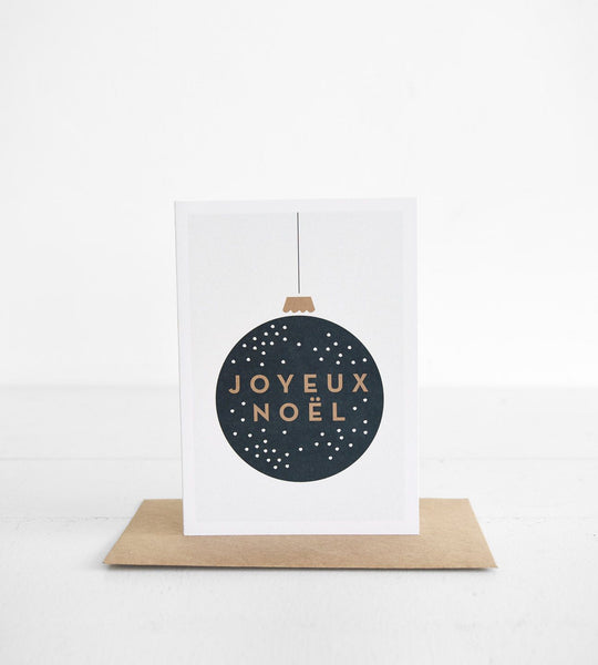 Michoucas Design | Boule De Noël Card