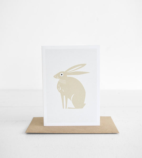 Michoucas Design | Easter Rabbit Card