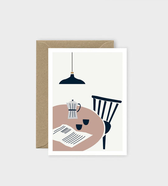 Michoucas Design | Café du Martin Card