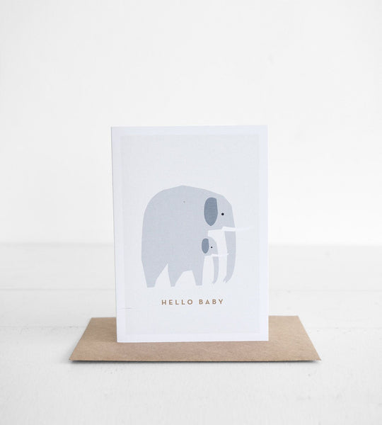 Michoucas Design | Elephant Card