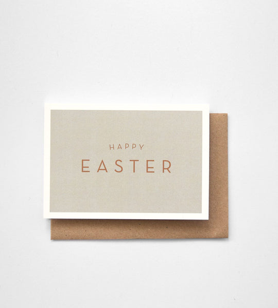 Michoucas Design | Happy Easter Card