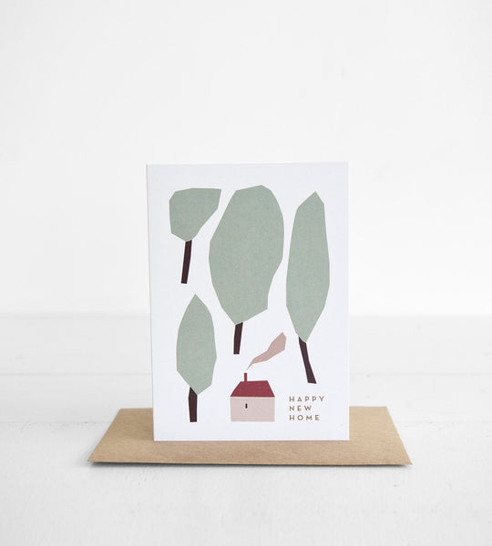 Michoucas Design | Happy New Home Card