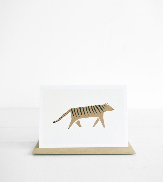 Michoucas Design | Hello Tiger Card