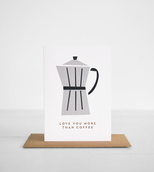 Michoucas Design | More Than Coffee Card