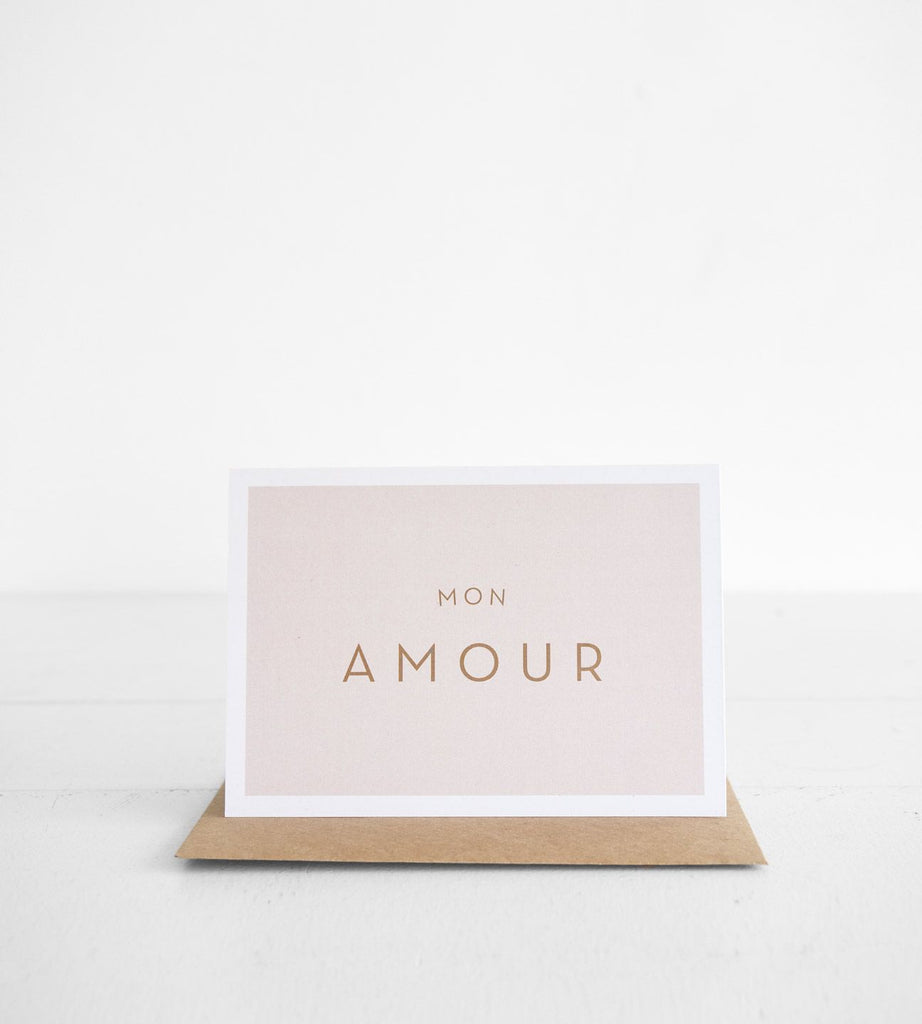 Michoucas Design | Mon Amour Card