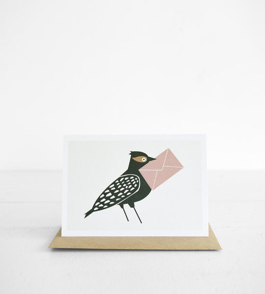 Michoucas Design | Oiseau Postal Card