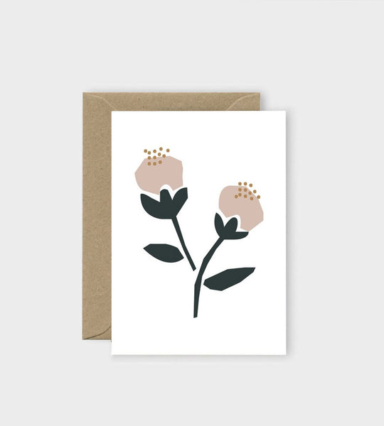 Michoucas Design | Roses de Damas Card