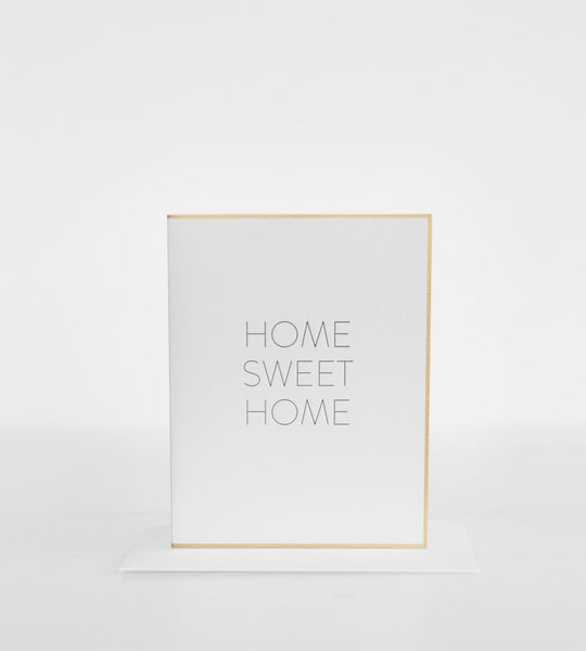 Sugar Paper | Home Sweet Home Card | Black