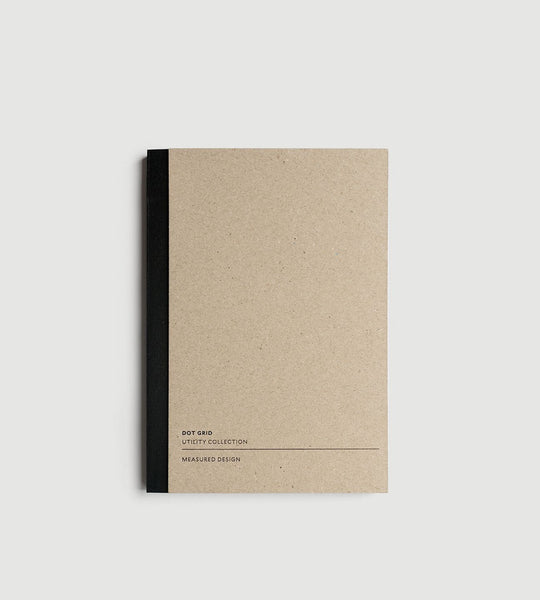 Milligram | Utility Notebook | Black A5