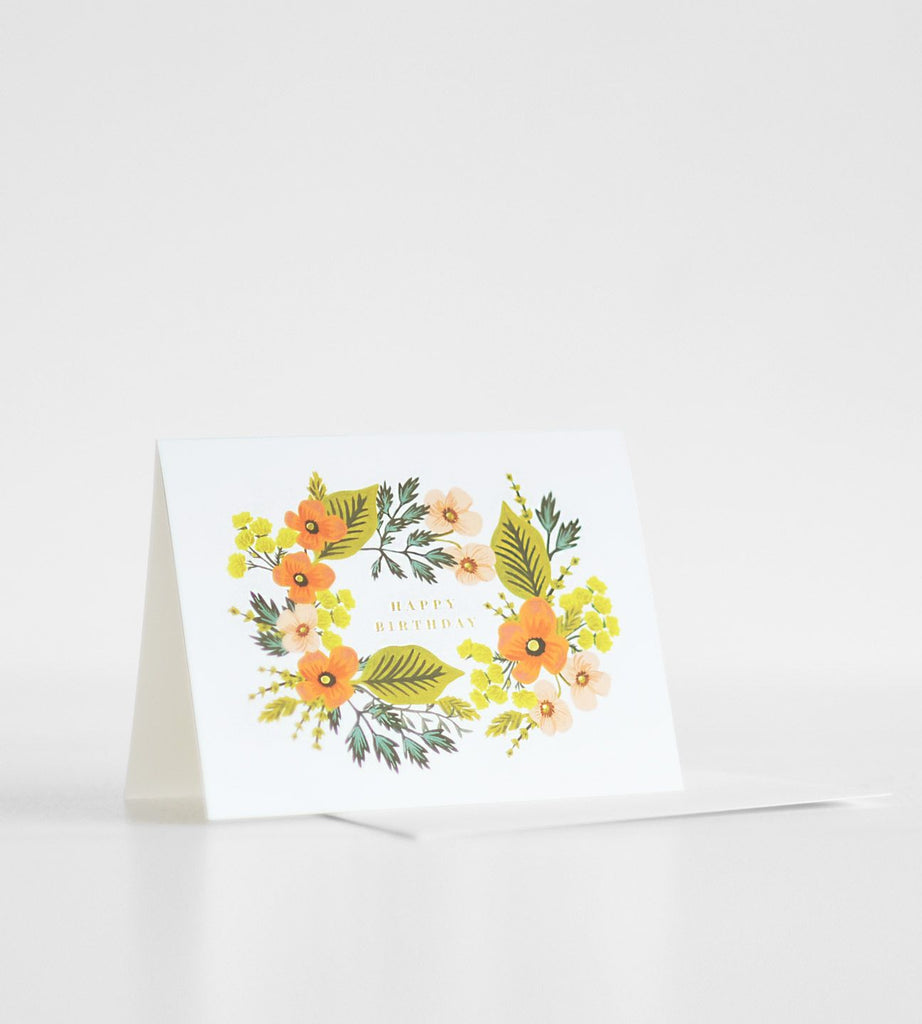 Rifle Paper Co. | Happy Birthday Bouquet Card